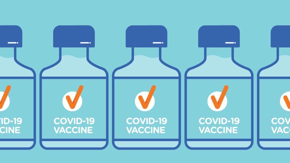 Covid 19 vaccine social media image vaccine rolling basis