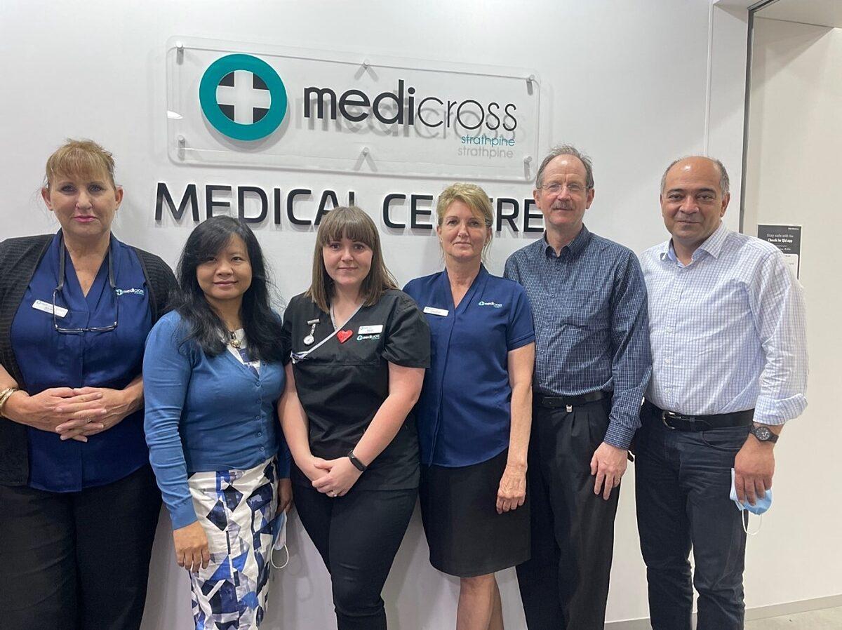 Medicross Strathpine team
