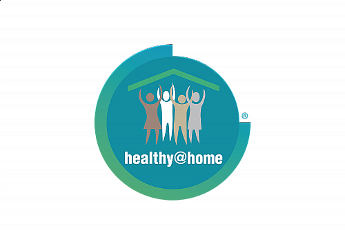 Healthy at home with space 300 dpi