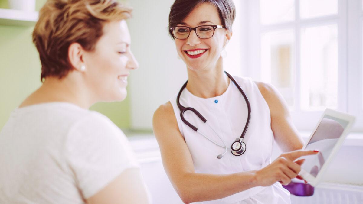 digital health page image