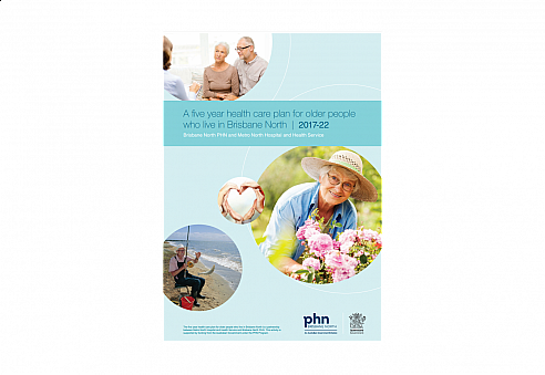 Older persons plan front page
